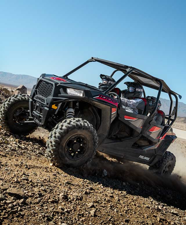 Polaris NZ-RZR Side By Sides : High Performance Off-Road